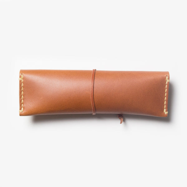 Leather Pen Case - Back