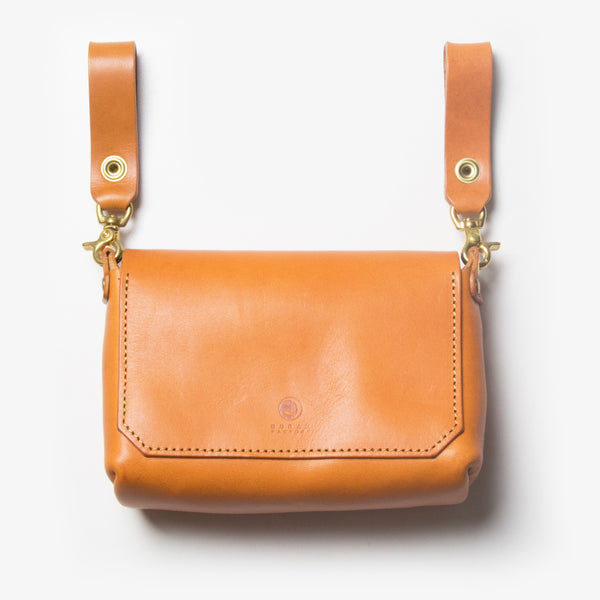 Leather Belt Pouch - Back