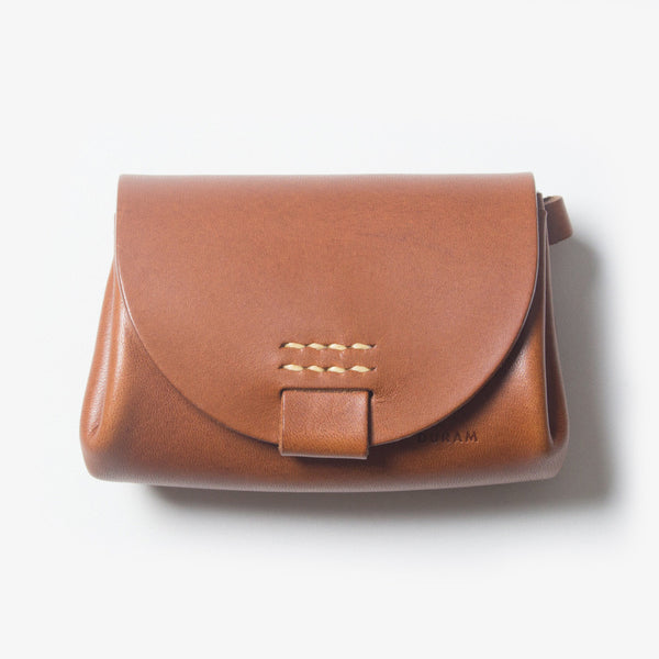 Small Leather Purse - Brown