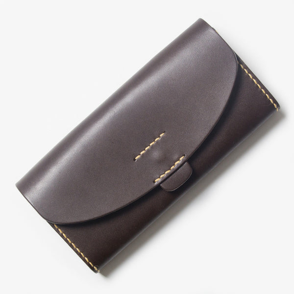 Leather Wallet - Dark Brown
