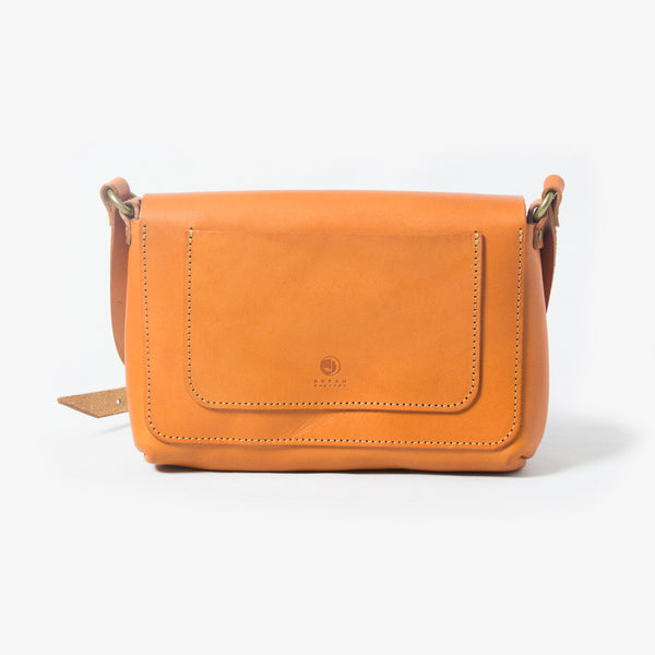Leather Shoulder Bag - Back