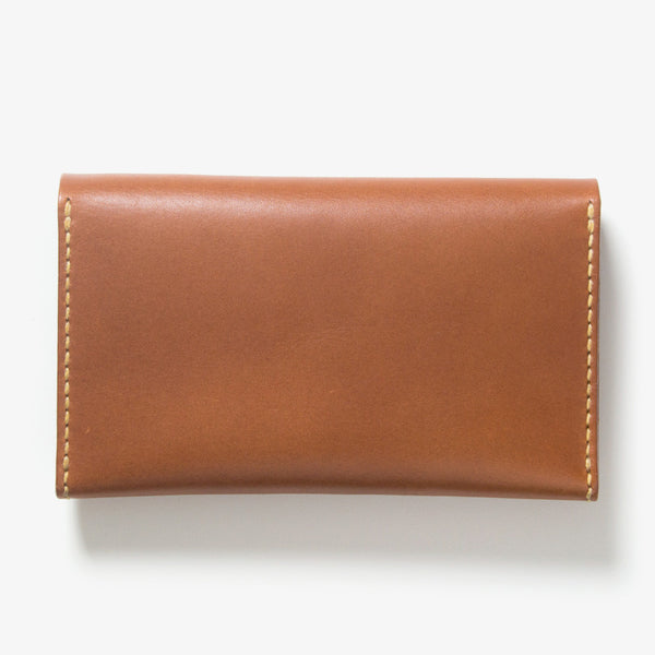 Leather Bankbook Wallet Back