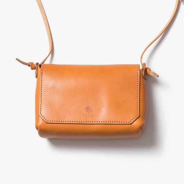 Leather Shoulder Pouch Back