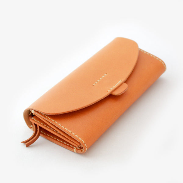 Leather Wallet - Light Brown