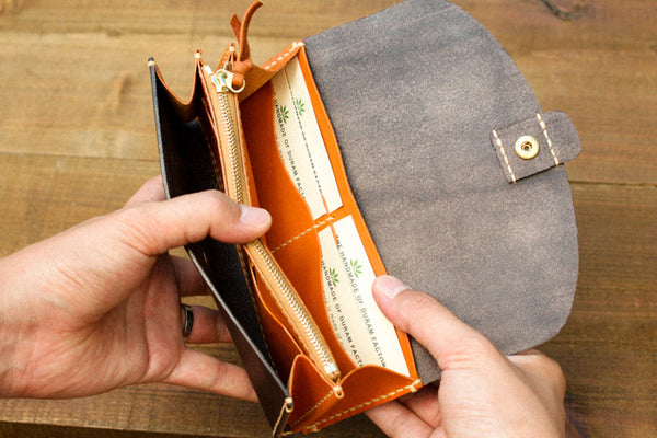 Leather Wallet - 4 Card Slots