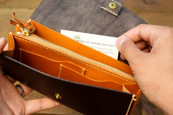 Leather Wallet - Card Slot