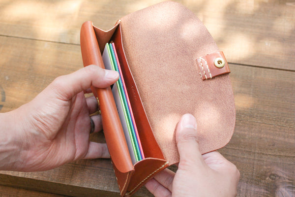 Leather Bankbook Wallet 2