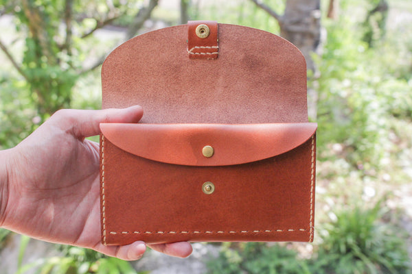 Leather Bankbook Wallet 5