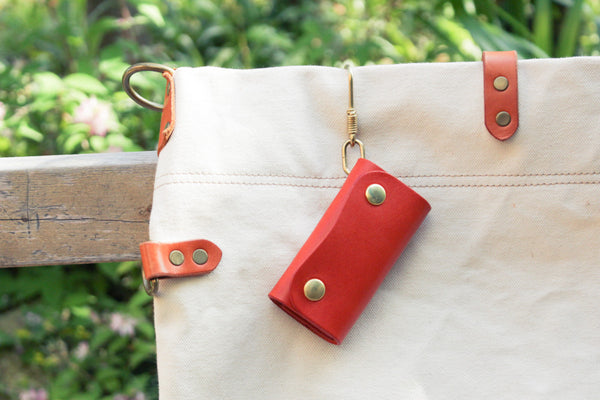 Leather Hook Key Case 3