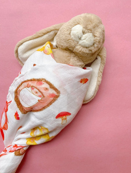 Sibling Swaddle Blanket