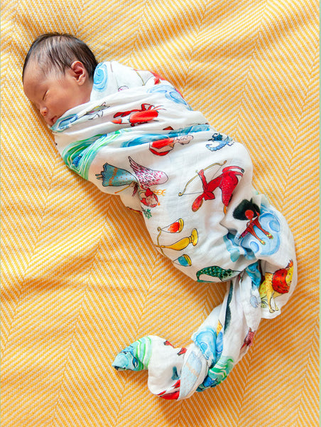 Horoscope Swaddle Blanket