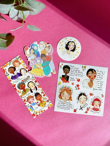 Girl Sticker Set