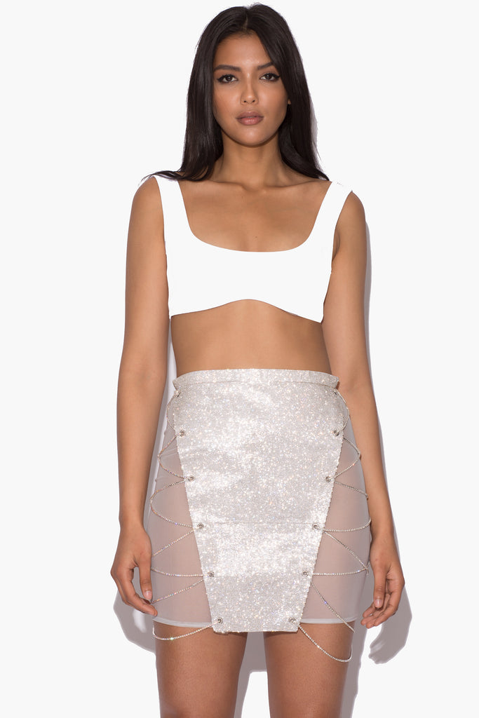 Alyssa Crystal Skirt