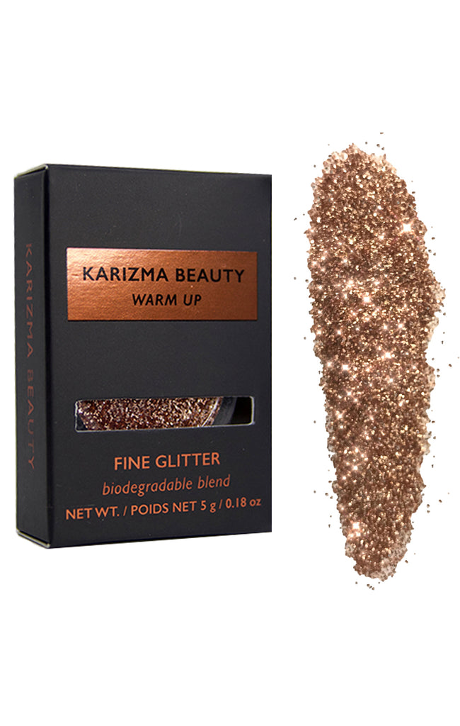 Warm Up Biodegradable Glitter Eyeshadow