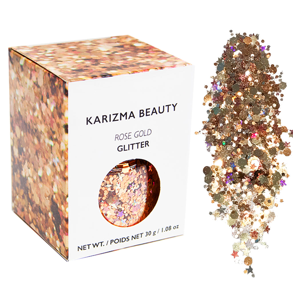 Rose Gold Chunky Glitter Large 30g