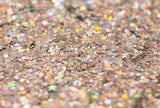 Silver Holographic Chunky Glitter Large 30g