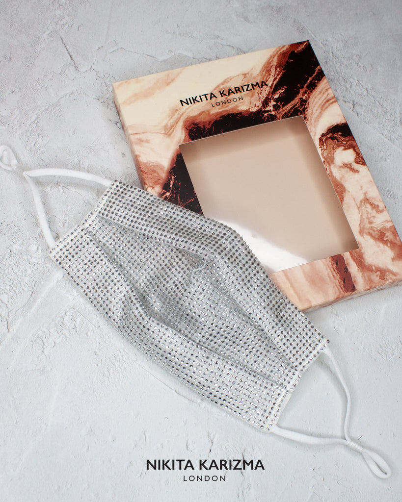 Crystallised Face Mask