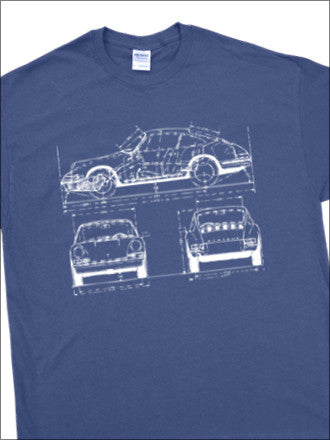 911/912 BluePrint T-Shirt