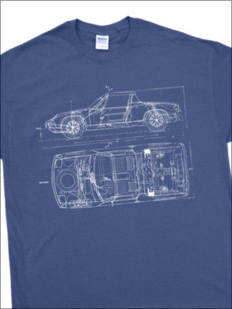 914 BluePrint T-Shirt