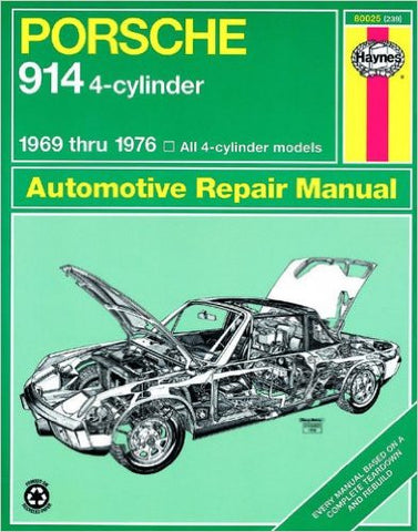 Haynes Porsche 914 Repair Manual