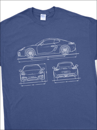 Cayman BluePrint T-Shirt