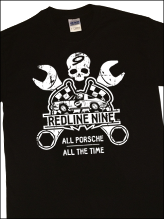 Redline Nine. All Porsche. All the Time. T-Shirt