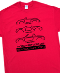Mid-Engine Evolution T-Shirt