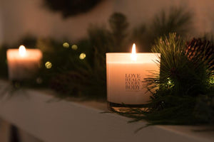 Three Trees Soy Candle