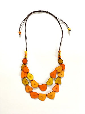 Tagua Two Layer Necklace
