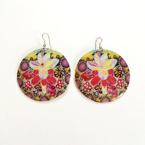 Summer Disc Earrings