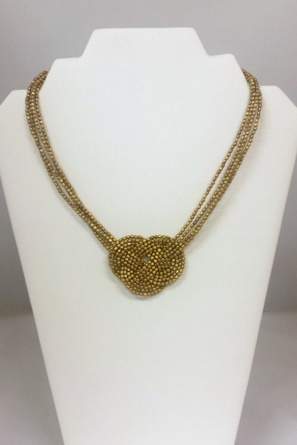 Knotted Necklace