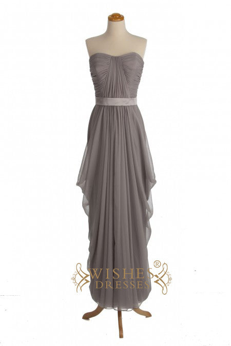 A-line Sweetheart Floor Length Bridesmaid Dresses AM283