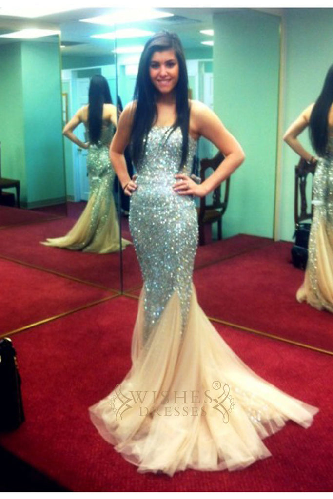 Mermaid Long Prom Dress/ Sexy Formal Dresses AM299