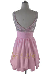 A-line Shinny Sequins Short Homecoming Dresses/ Prom Dress
