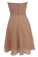 A-line Sweetheart Neckline Chiffon Bridesmaid Dresses Am141