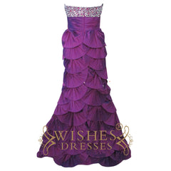 Sexy Mermaid Cataphracted Skirt Long Formal Dress Am170
