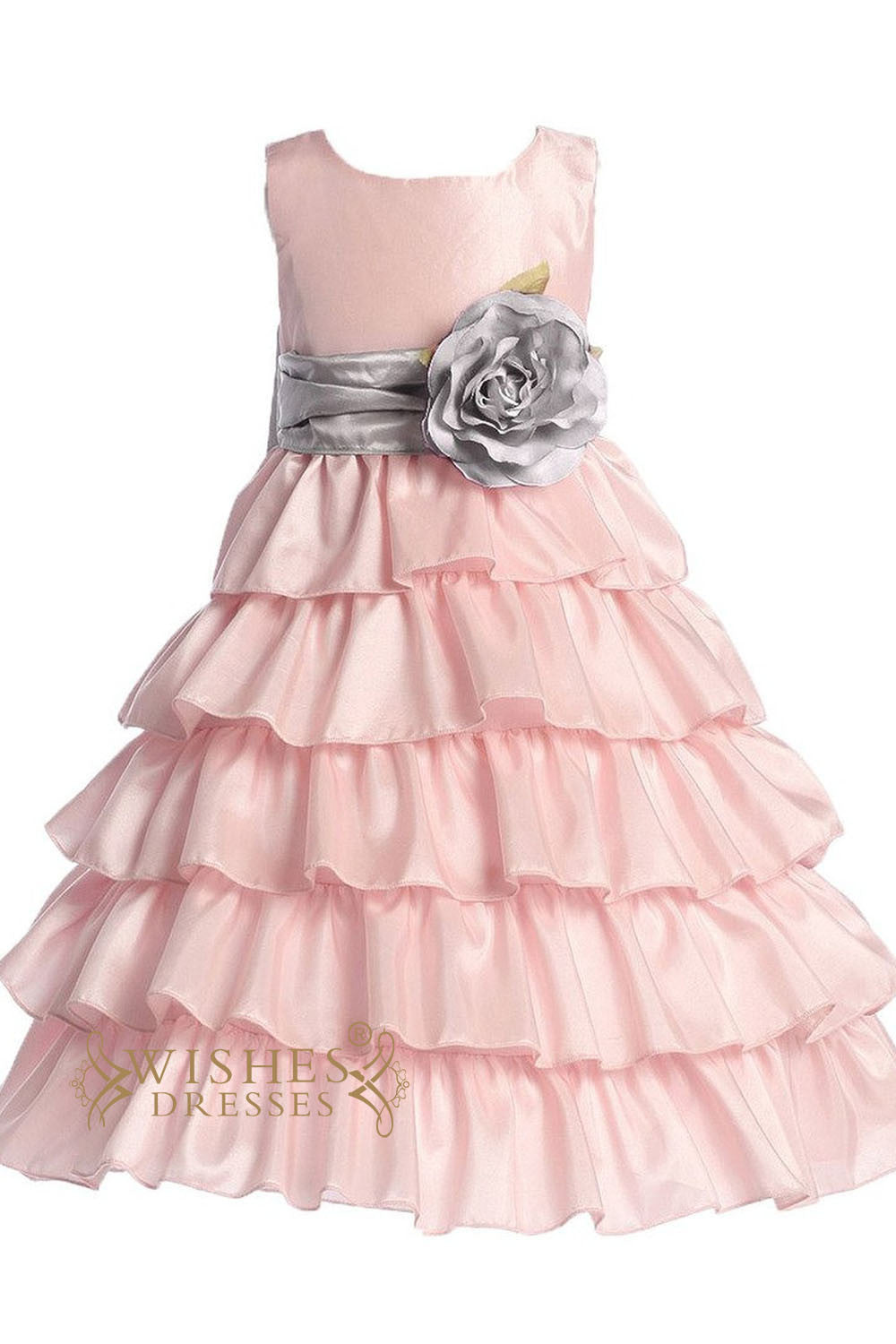Flower girl dresses cute baby skirt with sash flower girl dresses am217 izmirmasajfo Image collections