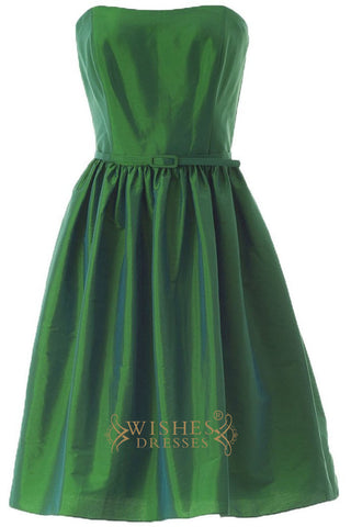 Simple style Green Bridesmaid Dresses Am219