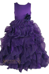 A-line Princess Flower Girl Dresses Am225