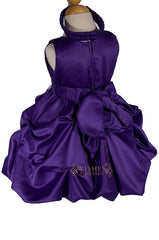 Baby Skirt / A-line Purple Flower Girl Dress Am228