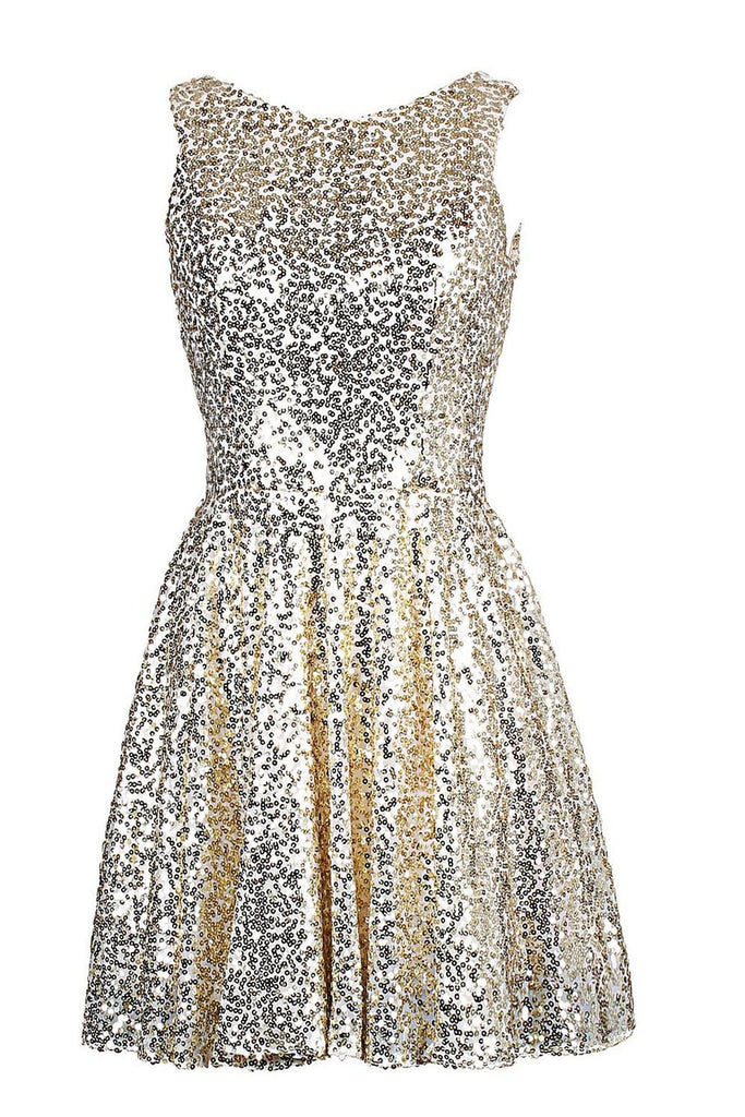 Lace Sequins Short Cocktail Dress/ Prom Dress Am68