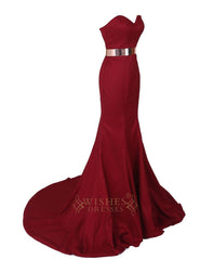 Sweetheart Chiffon Long Prom Dresses For Evening Formal Party Am69