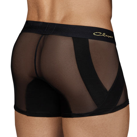 Clever Moda Boxer Calm Black Men's Underwear