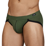 Clever Moda Brief Wisdom Green Men's Underwear