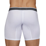 Clever Moda Long Boxer Connection White Men's Underwear