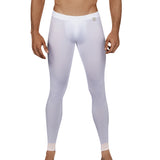Clever Moda Skin Leggings Nirvana White Men's Sportswear