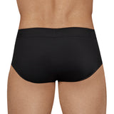 Clever Moda Swim Brief Individual Black Men's Swimwear