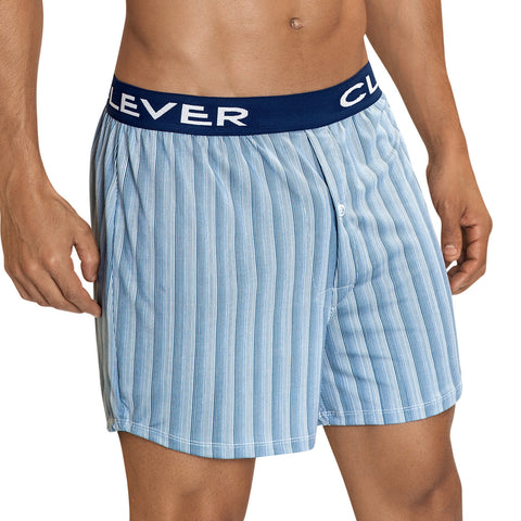 Clever Moda Lounge Shorts Azuelo Blue Men's Underwear
