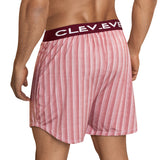 Clever Moda Lounge Shorts Azuelo Grape Men's Underwear