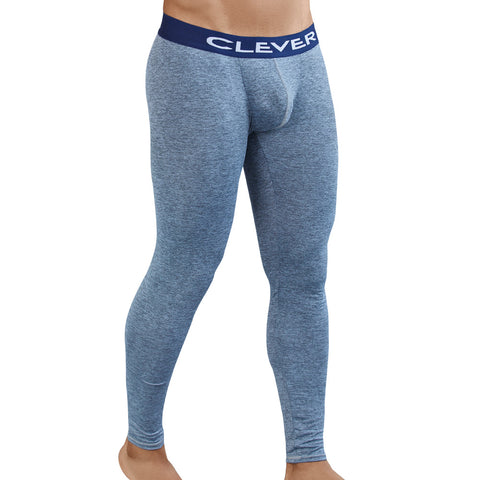 Clever Moda Skin Leggings Aster Grey Men's Sportswear